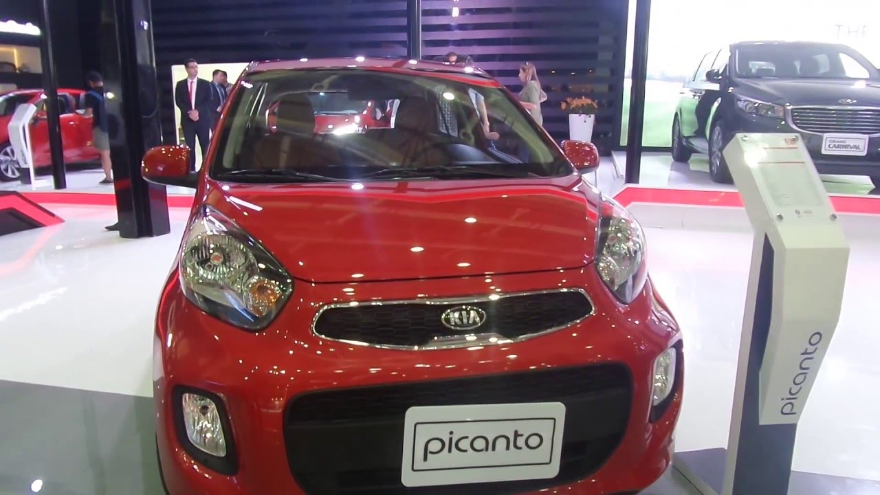 2017 Kia Picanto Interior And Exterior At Automech Formula