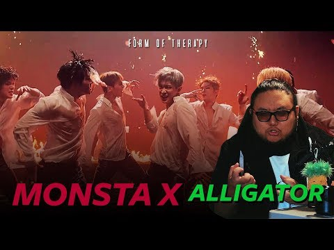 "Producer Reacts To MONSTA X ""Alligator"" MV"