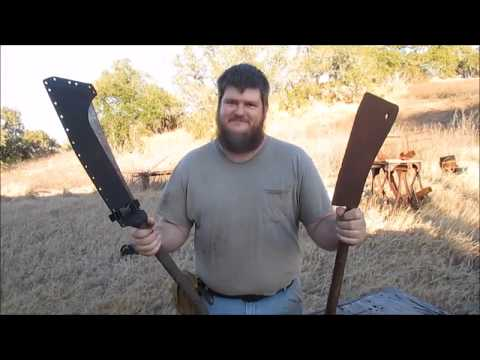 Carcass Splitter: Two-Handed Meat Cleaver