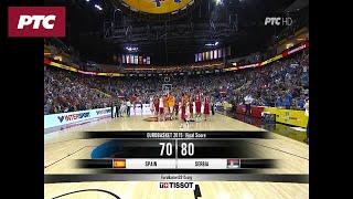 Košarka - EP: Srbija – Španija 80:70