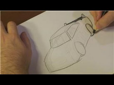 How To Draw Vehicles A Nascar Car