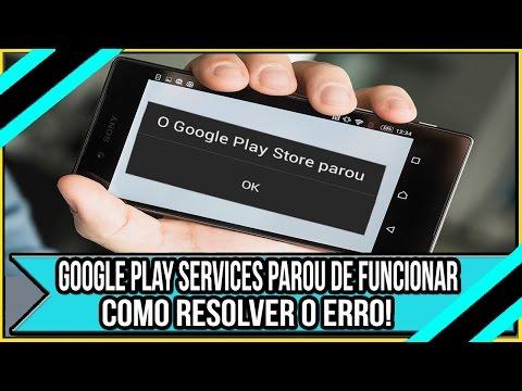 Google Play Services Parou de funcionar? Como Resolver o Erro!