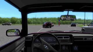 Школьник угнал машину у учителя в city car driving + играем на руле! [рп ситуация]