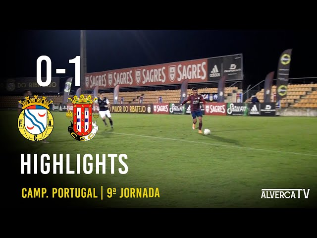 FC Alverca 0-1 Caldas SC Highlights