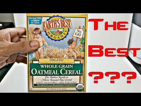 Earth's Best Organic Whole Grain Oatmeal Cereal | Review