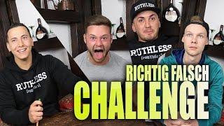 RICHTIG FALSCH CHALLENGE!