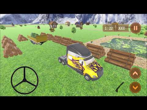 Farm Truck 3D: Silage | Android Gameplay (Cartoon Games Network)