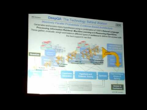 "Dr. David Ferrucci, ""Building Watson an Overview of the DeepQA Project"" @TiEcon 2011"