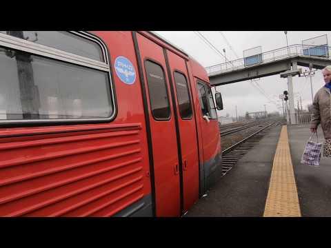 РА1-0032, маршрут: Шаховская - Ржев-Балтийский / Train RA1-0032, Route: Shakhovskaya - Rzhev