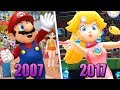 Evolution of Mario & Sonic at the Olympic Games (2007 - 2017)