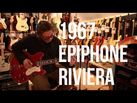 1967 Epiphone Riviera - Phil's Vintage Guitars