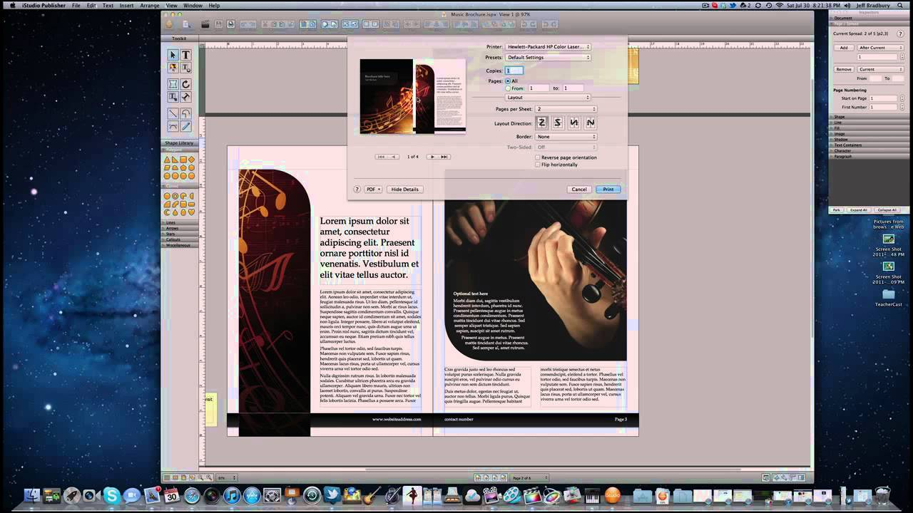 How to create a booklet on a mac youtube pronofoot35fo Choice Image