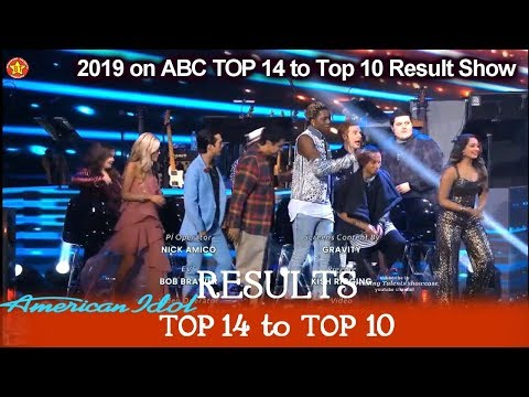 RESULTS Who Made It To Top 10? Who Were Eliminated?  | American Idol 2019 Top 14 To Top 10 Results