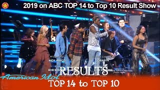 RESULTS Who Made It To Top 10? Who were Eliminated?  | American Idol 2019