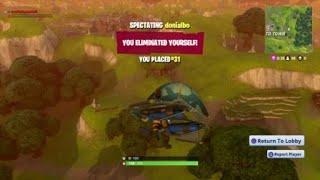 Fortnite gliding bug