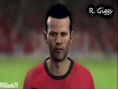 ║★║FIFA 10 - Player Faces - Manchester United║★║