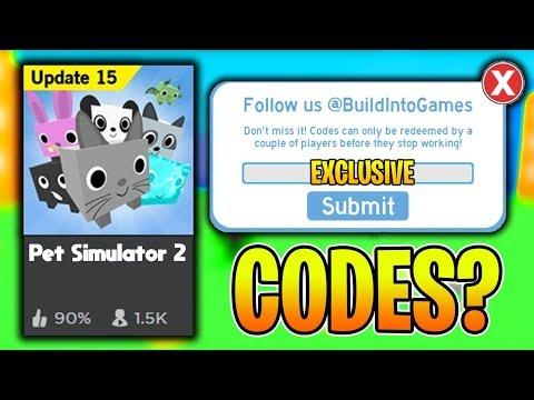 Pet Simulator 2 Codes Roblox Codes Tcg Trending Buzz