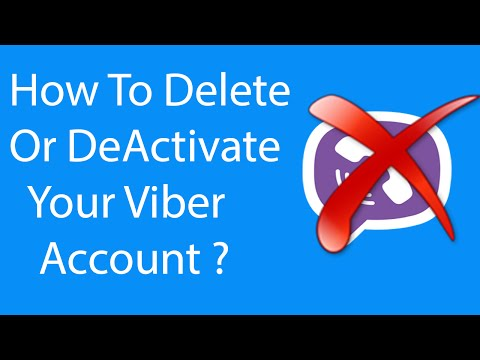Android App:How To Delete or Deactivate Your Viber Account Permanently ?