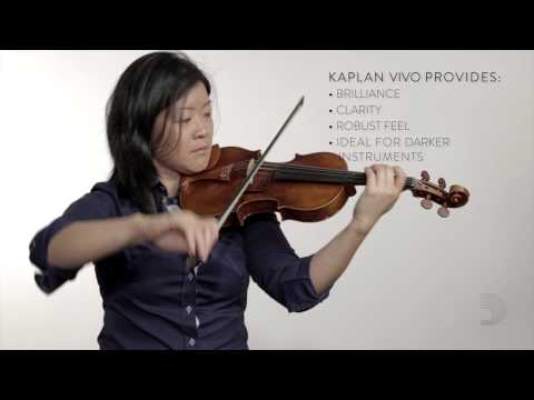 D�rio: Kaplan Amo and Kaplan Vivo Violin Strings