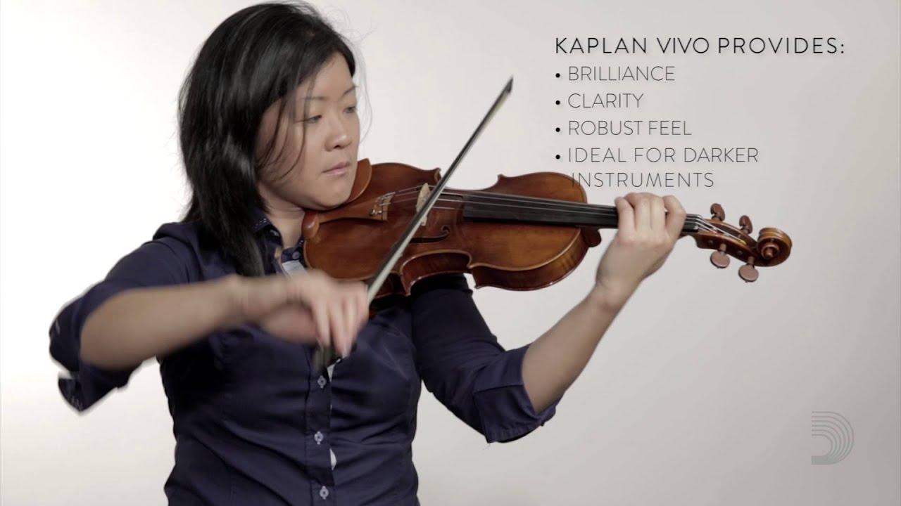 DAddario K420L-3 Kaplan Golden Spiral 4//4 Scale Medium Tension Solo Loop End Single E String for Violin