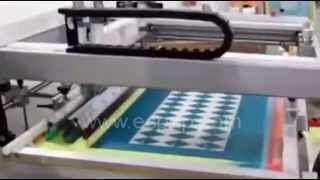 Plane Screen Printing Machine Plane Screen Printer