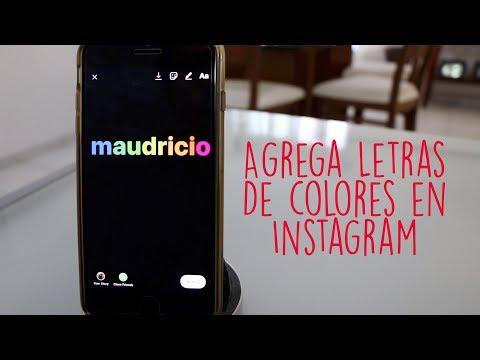 Truco | Letras De Colores en Instagram