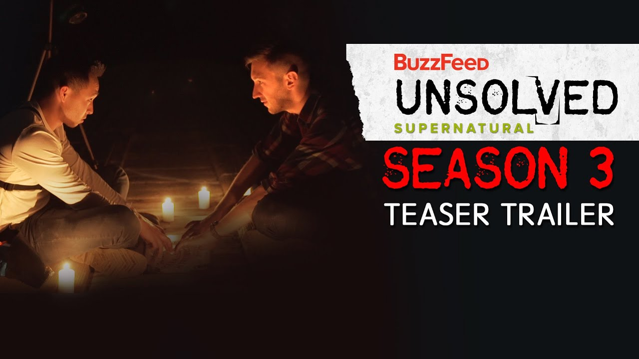 The Trailer For The Third Season Of BuzzFeed Unsolved