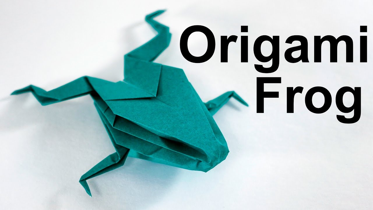 Origami Frog Base Video