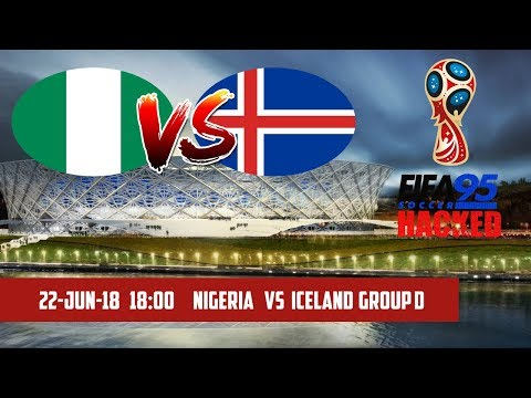 FIFA 95 HACKED – Nigeria vs Iceland | Group D | 2018 FIFA World Cup Simulation