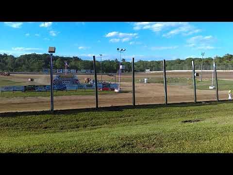 Eagle Valley Speedway 2017 Heat Winner #22 Michael Truscott