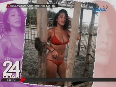 24 Oras: Rita Daniela, sexy sa kanyang beach photos