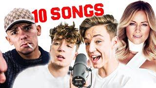 10 SONGS mit NEUER MELODIE! (Challenge)