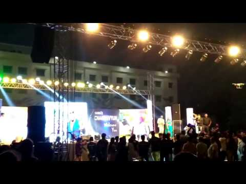 Baba seghal in  raghu chakravyuh fest 2k17. mr perfect song