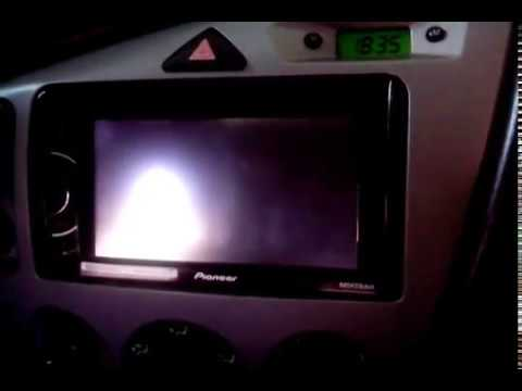 dvd 2din pioneer ford focus youtube. Black Bedroom Furniture Sets. Home Design Ideas