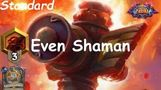 Hearthstone: Even Shaman #8: Boomsday (Projeto Cabum) - Standard Constructed
