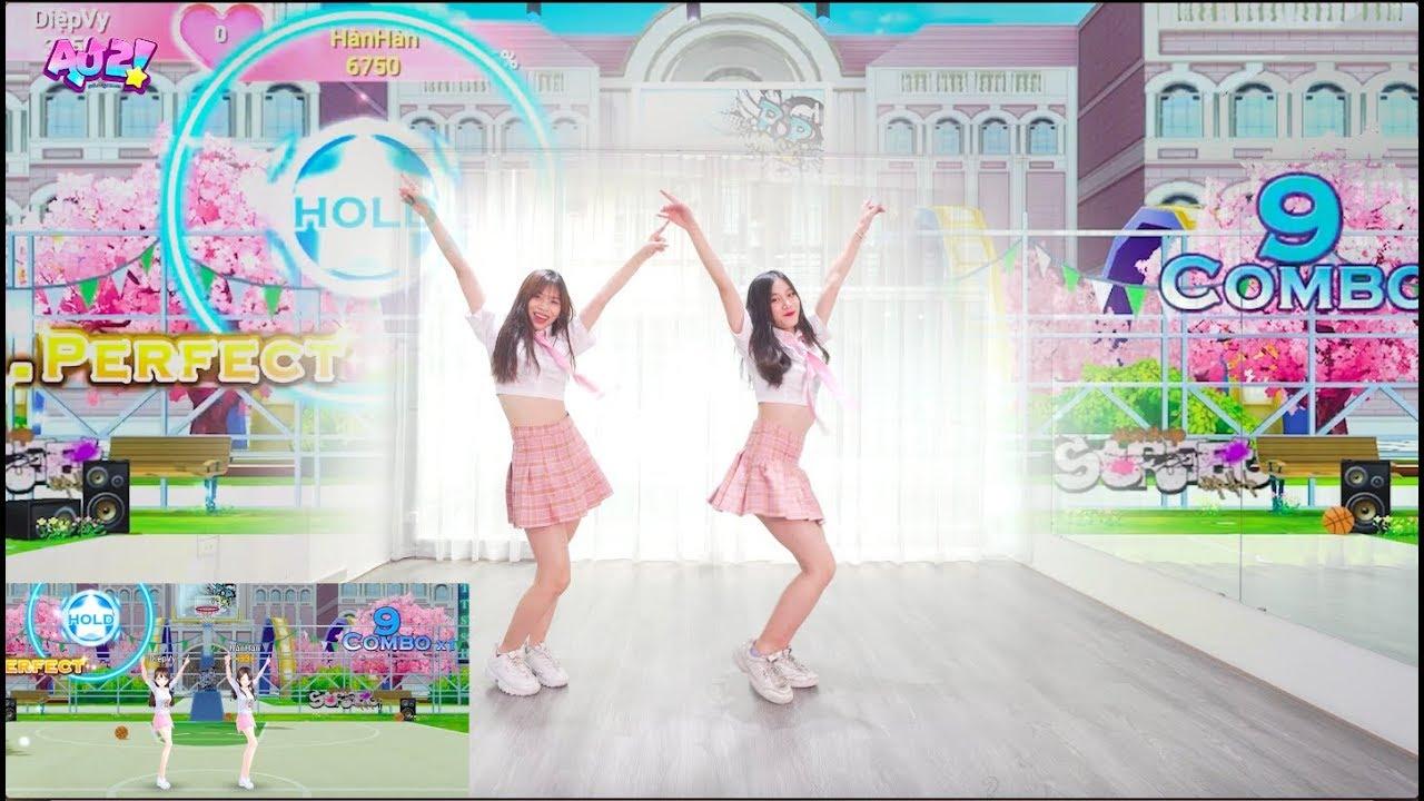 [AU2 – VTC GAME] Nhảy đôi Fake Love & Bubble Pop & Shake It cực xinh quẩy cực phiêu cùng Oops! Crew