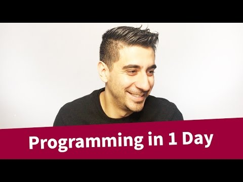 Programming in 1 Day! -- Learn to code TODAY.