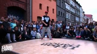 Urban Dance Meeting 2015 - Final Popping - Popping Mario vs Bienio