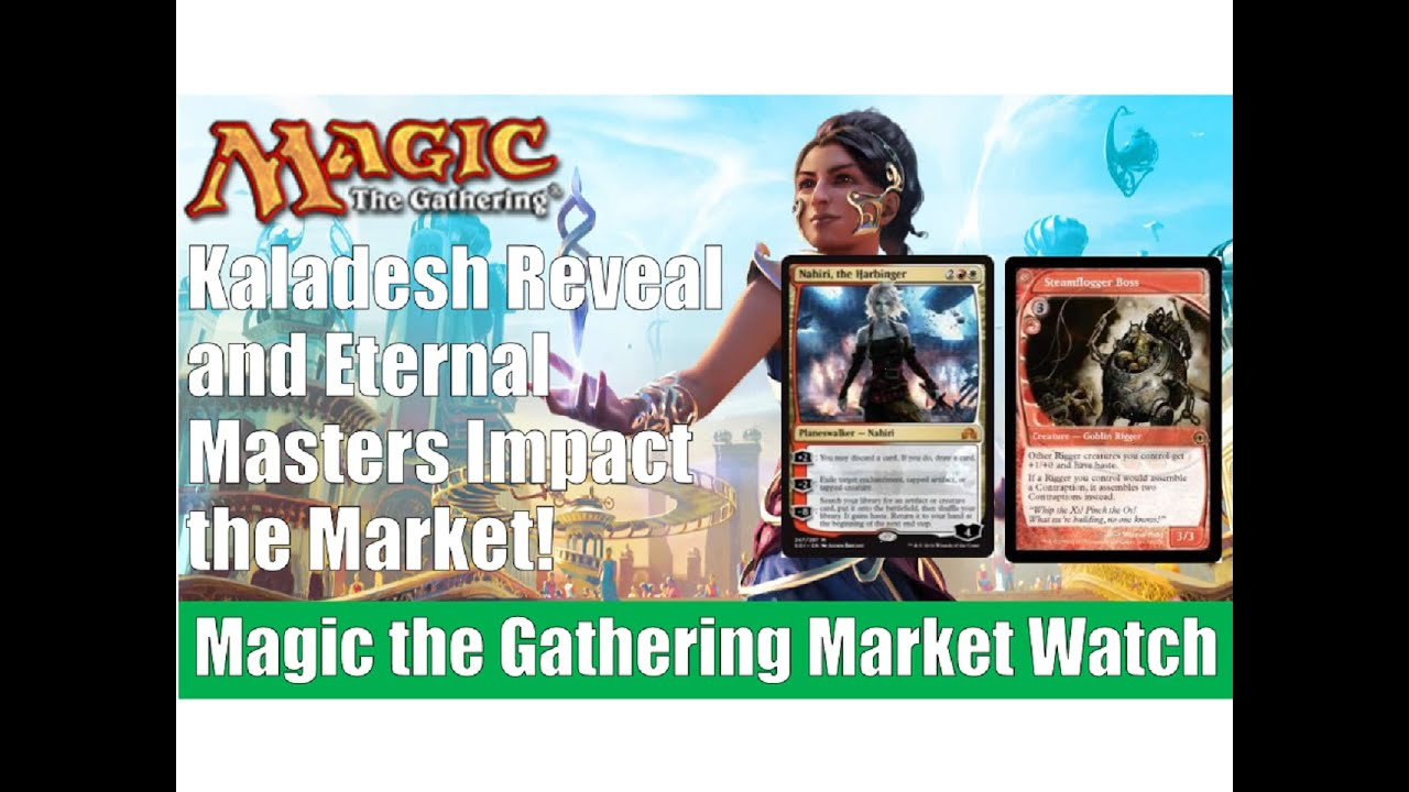 mtg market watch kaladesh reveal and eternal masters impact the