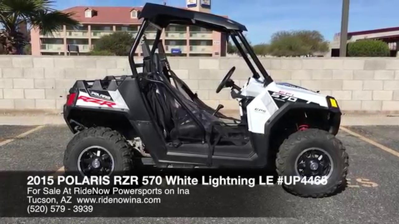 ad2ad4989d3 2014 Polaris RZR 570 White Lightning LE For Sale Tucson AZ 520-579 ...