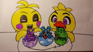 Мои рисунки FNaF и UnderTale 8