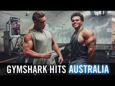Meeting the Gymshark Team | Melbourne Pop Up