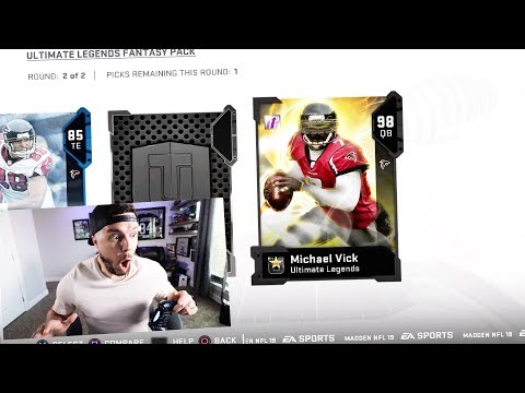 ANTONIO BROWN IS A RAIDER!! CRAZY PULLS - Madden 19 Pack Opening