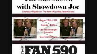 georges st pierre interview on the fan 590