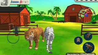играю в симулятор тигра ( не онлайн ) ( не снежного )🐯🐯🐯🐯 убиваем животных🐍🐸🐆🐌🐱🐀