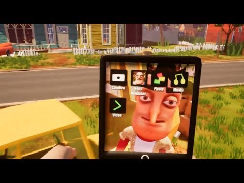 The Player get a Tablet | Hello Neighbor Mod