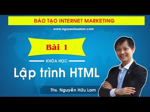 [Dự án 100] – (Số 11): Thiết kế web với Ngôn ngữ HTML (P1)