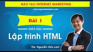 [Dự án 100] - (Số 11): Thiết kế web với Ngôn ngữ HTML (P1) thumbnail