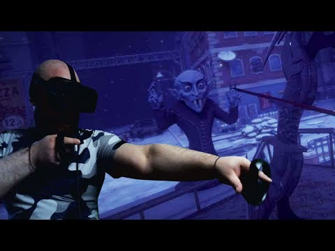 Dracula: Vampires vs  Zombies  ► oculus rift ► Бородатый РобинГуд в VR