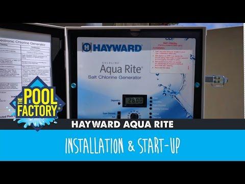 Hayward Aqua Rite - Installation & Start-Up